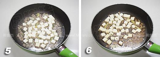 肉末烧豆腐的家常做法