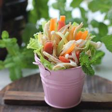 鸡丝生菜卷