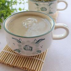 牛奶绿豆沙沙