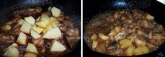 土豆炖鸡块怎么做