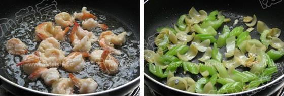 西芹百合腰果炒虾仁的家常做法