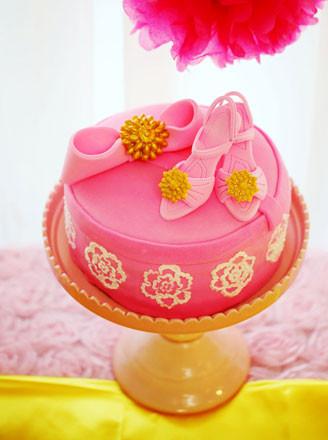 高跟鞋礼盒翻糖蛋糕的做法