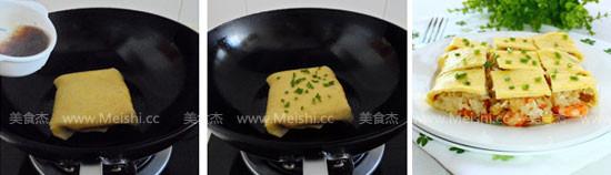 三鲜豆皮的制作方法