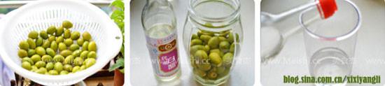 秘制橄榄醋的家常做法