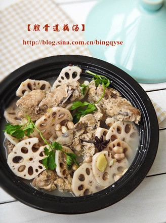 腔骨莲藕汤的做法