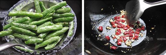 干煸四季豆的家常做法