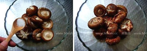 黑胡椒烤香菇的做法图解