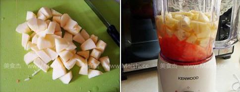 阳光西柚苹果汁的做法图解
