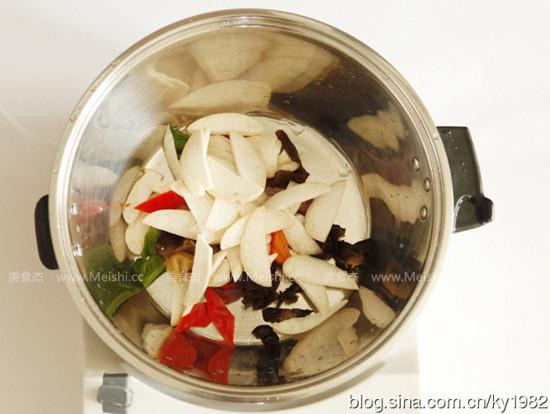 杏鲍菇炒肉片的做法图解