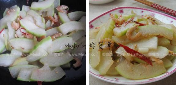 冬瓜烧虾米的简单做法