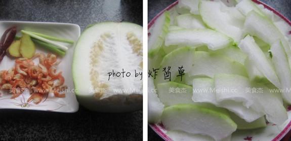 冬瓜烧虾米的做法大全