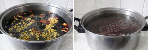 桂花酸梅汤的做法图解