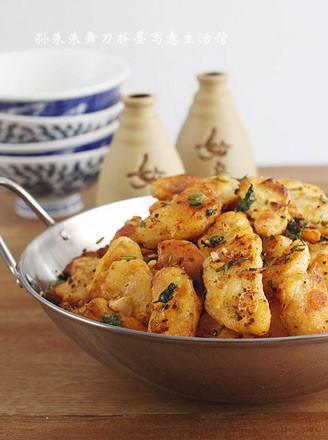 脆皮干锅土豆的做法