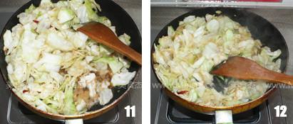 蚝油手撕卷心菜怎么做
