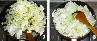 蚝油手撕卷心菜的简单做法