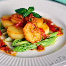 芦笋土豆沙拉