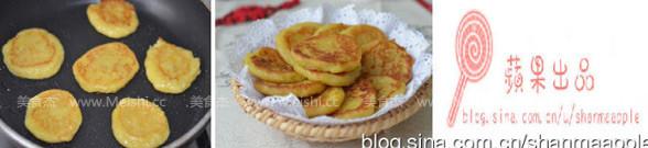 奶香红薯饼的家常做法