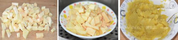 奶香红薯饼的做法大全