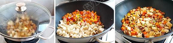 肉丁时蔬炒疙瘩怎么做
