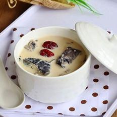牛奶炖竹丝鸡