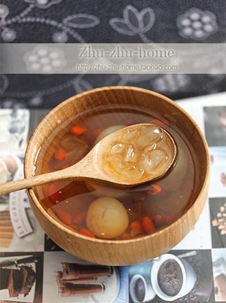 龍眼枸杞皂角米湯的做法