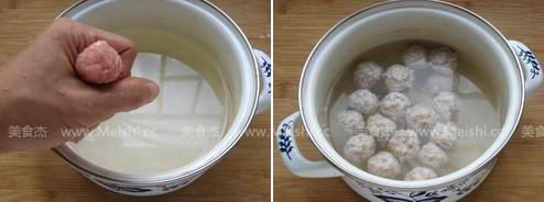 菌菇肉丸子汤的家常做法