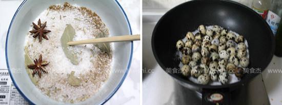 盐焗鹌鹑蛋的做法图解