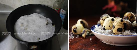 盐焗鹌鹑蛋的家常做法