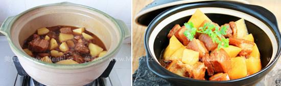土豆红烧肉怎么做