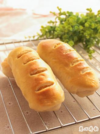 红薯泥椰蓉面包卷的做法