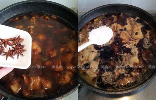 土豆烧牛筋的简单做法