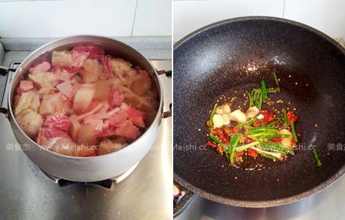 土豆烧牛筋的做法图解