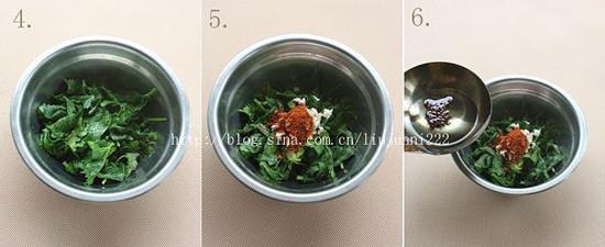 炝拌芹菜叶的做法图解