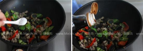 辣椒肉末炒皮蛋怎么吃