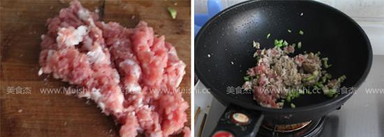 辣椒肉末炒皮蛋的家常做法