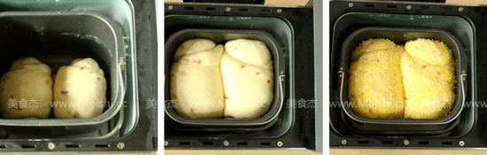 火腿粒咸味吐司的简单做法