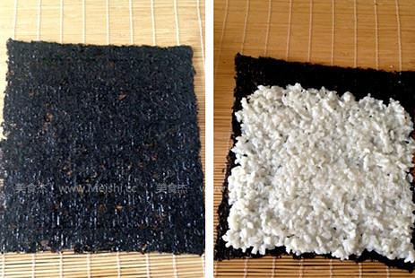 鳄梨金枪鱼寿司卷的做法大全