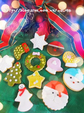 翻糖圣诞姜饼的做法