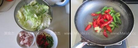 干锅圆白菜的做法大全