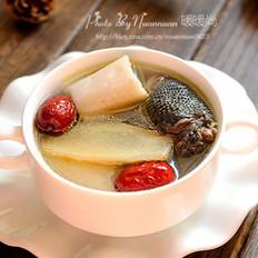 红枣山药乌鸡汤