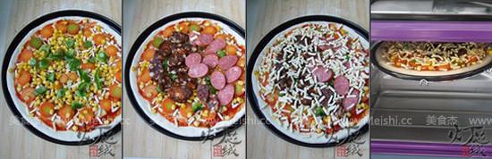 香肠披萨的家常做法