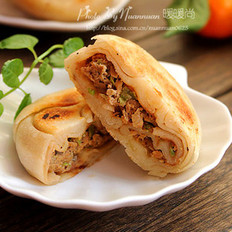 尖椒牛肉饼