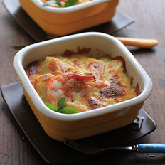 鲜虾土豆焗饭