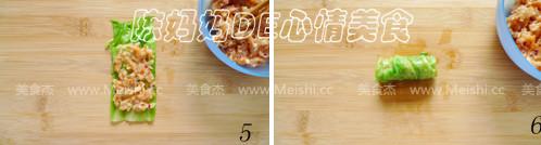 蒸包心菜肉卷的家常做法