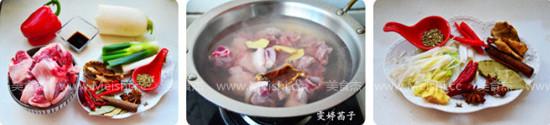香辣萝卜羊肉煲的做法大全