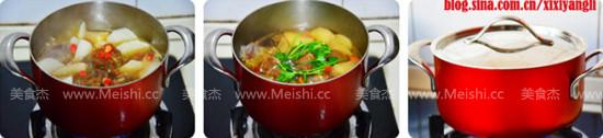 香辣萝卜羊肉煲的简单做法