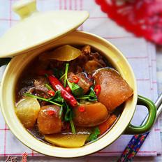 香辣萝卜羊肉煲