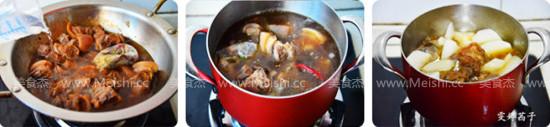 香辣萝卜羊肉煲的家常做法