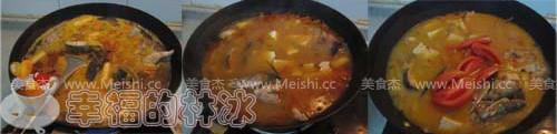 番茄豆腐炖黑鱼的家常做法