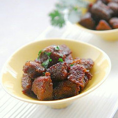 咖喱牛肉粒